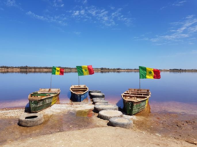 Senegal boats