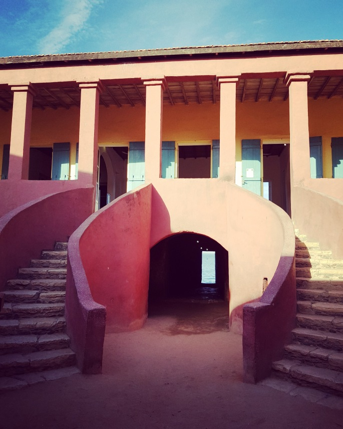 idg slave house stairs
