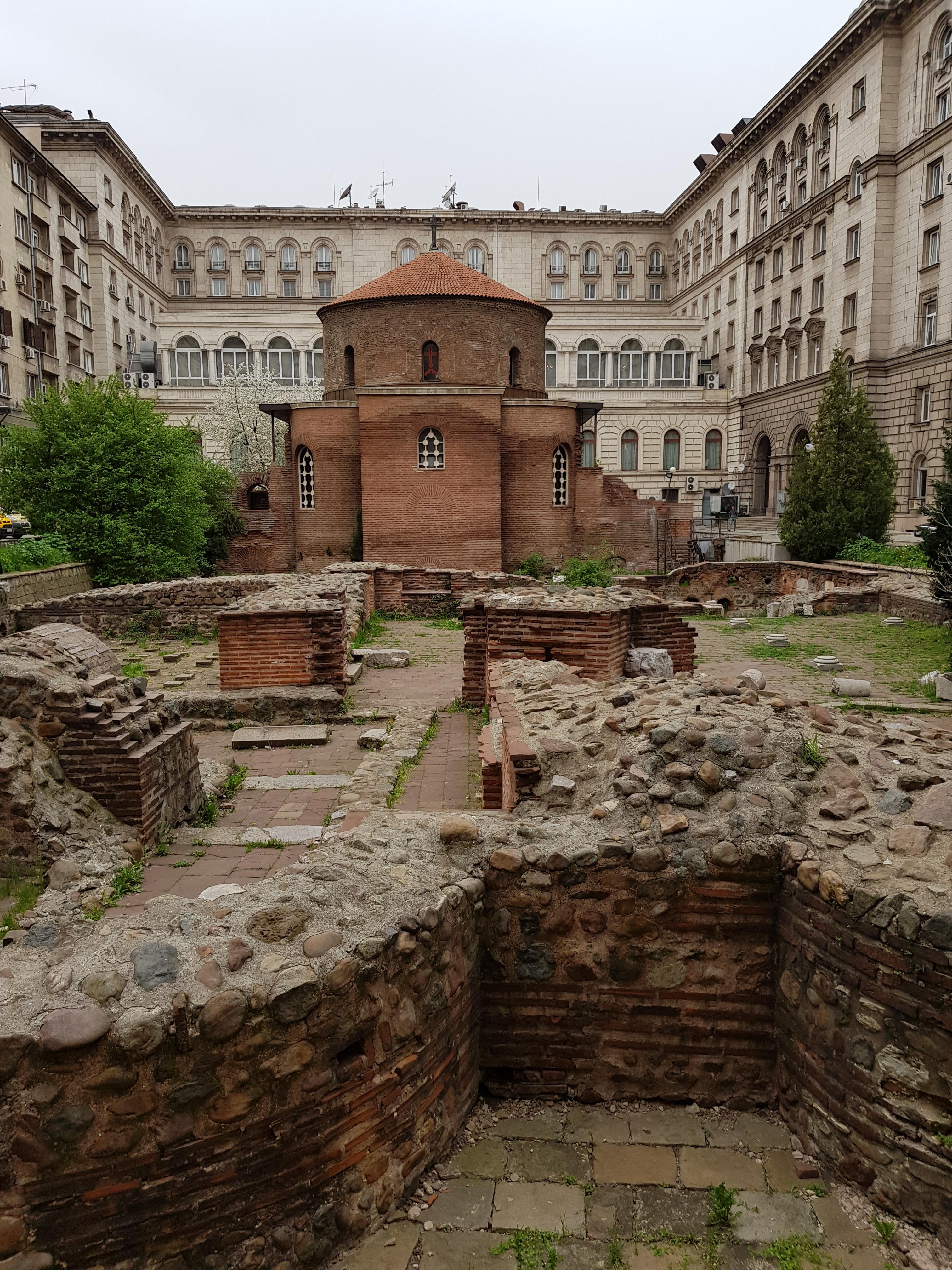 sofia ruins